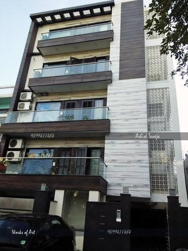Residential Exterior Services Residential Flat Exterior Designing Service Consultants From Delhi