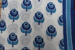 Screen Print Dress Material