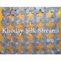Linen Embroidery Silk Fabric