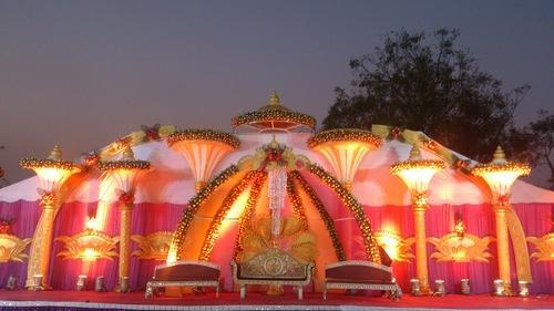 Destination Wedding Decoration Elephant Statue Exporter From Ahmedabad