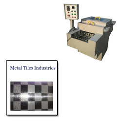 Etching Machine For Metal Tiles Industries