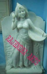 Rajasthani Lady Figure