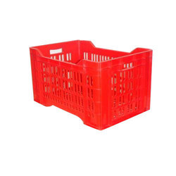 HDPE Plastic Fruits And Vegetables Crate