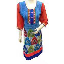 Full Sleeves Long Kurti