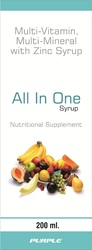 Multivitamin, Multimineral & Zinc Syrup
