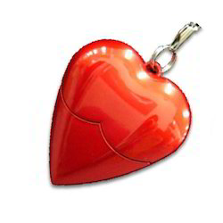 Heart Shaped Pen Drive