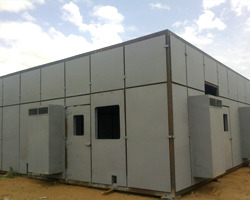 Turbine Sound Proof Enclosure