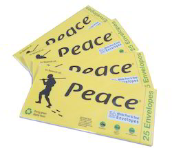 Peace Official Printed Paper Envelopes, Rectangular