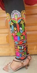 Laboni Handicrafts Multicolor Stylish Embroidered Leggings