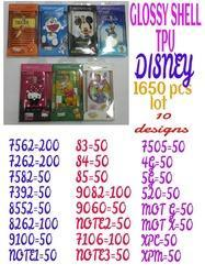 Glossy Shell Disney Design Covers