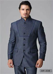 Designer Jodhpuri Suit Men Shirts Jeans Clothing Favoroski