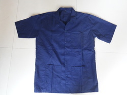 Shirt Apron (Blue)