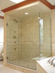 Glass Shower Panel Work
