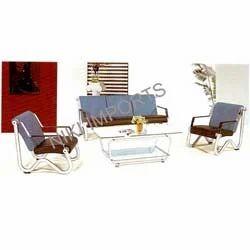 BSNL Cushion Sofa Set - Rexine