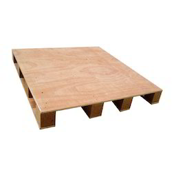 Rectangular 4 Way Plywood Pallet