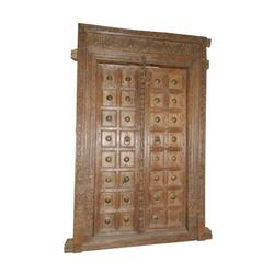 Architectural Vintage Carved Door