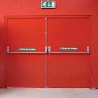 Emergency Exit Door  sc 1 st  IndiaMART & Emergency Exit Door Fire Exit Doors And Sprinklers | Hyderabad ...