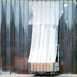 All Colours PVC Strip Curtains Usage Office Use Rs 140 Square Feet