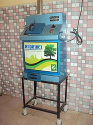 Electrically Operated Sanitary Napkin Disposal Machine
