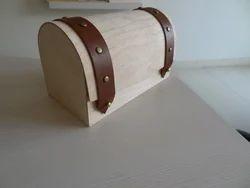 Flexible veneer and wood packaging box