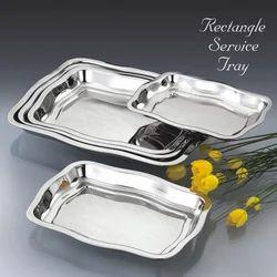Rectangle Service Tray Set