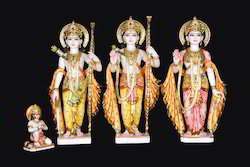 Marble Ram Darbar Marble Statue