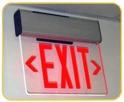 Emergency Exit Sign With LED
