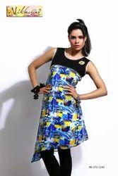 Trendy Printed Designer Tunic Kurti Kurta