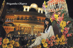 Actress Priyanka Chopra at Kingdom of Dreams