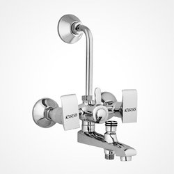 Wall Mixer 3 In 1 with L Bend Waterfall