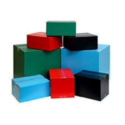 Color Corrugated Cartons