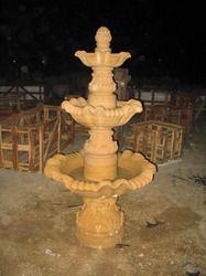 Teak Stone Fountain