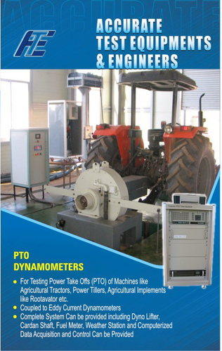 Tractor Pto Dynamometer : Pto test system dynamometer manufacturer from kolhapur