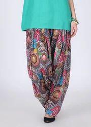 Designer Bandhej Patiala Salwar