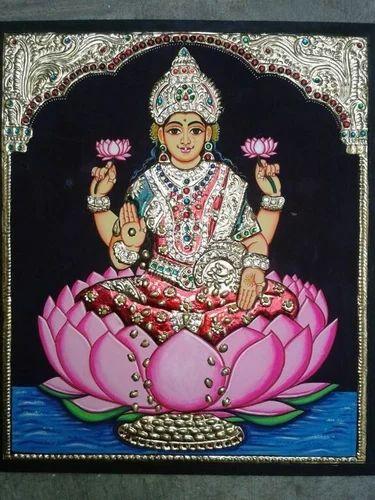 Tanjavur Lakshmi Tanjore Painting