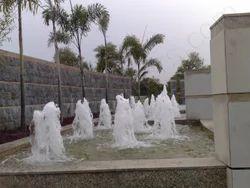 Outdoor Geyser Fountain