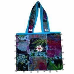 Kantha Work Bags