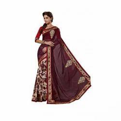 Women Embroidered Saree