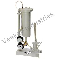 Rock Permeability Test Apparatus
