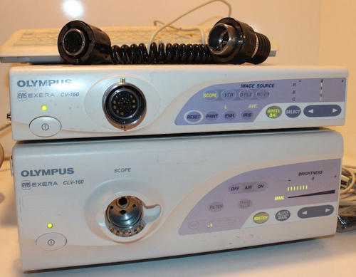olympus cv 160 processor cold light source sakriya technologies