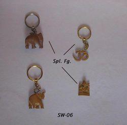 Sandalwood Keychain