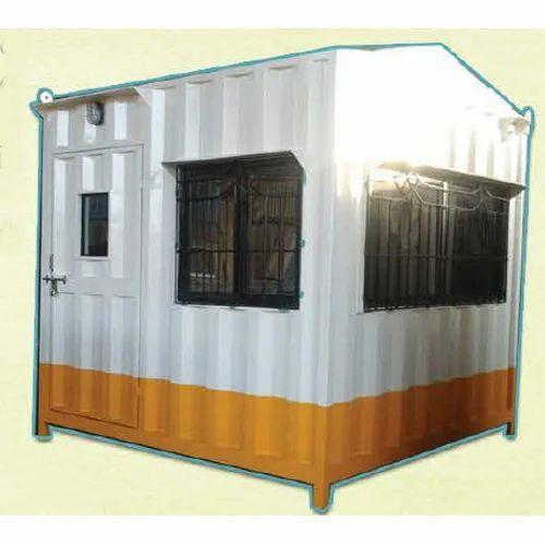 Steel Prefabricated Security Guard Cabin, Rs 40000 /piece
