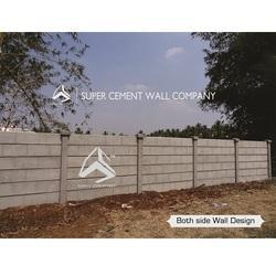 Concrete Compound Wall