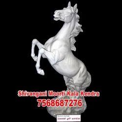 Marble Horse Figure