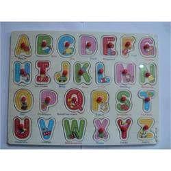 Wooden Puzzle Alphabets