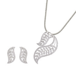 925 sterling silver Pendent Set