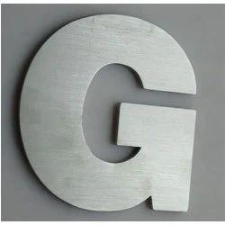 3D Aluminum Letters