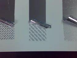 Hologram Transparent Sticker.