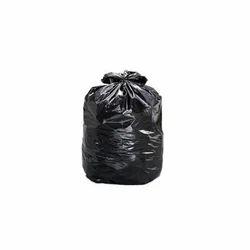 Black Plain Garbage Bag