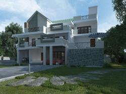 3D Exterior View Rendering Services